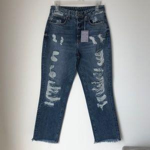 [LF] Carmar Juliet Eure Distressed Denim Jeans